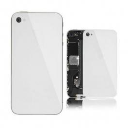 Vitre arrière unie pour IPHONE 4S blanc