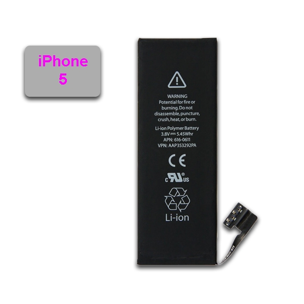 Batterie pour APPLE iPhone 5