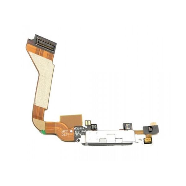 Nappe connecteur de charge pour IPHONE 4 blanc