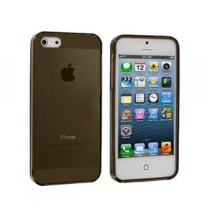 Coque Crystal TPU pour iPhone 5 / 5C / 5S - Noir