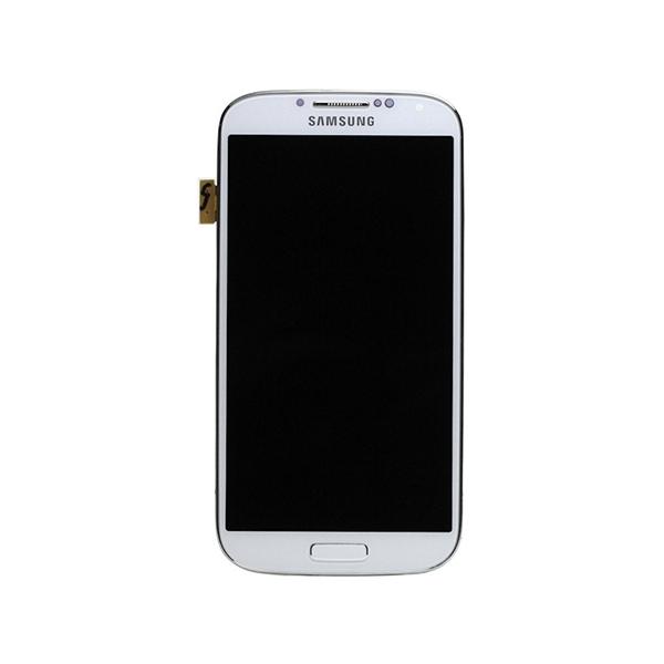 Vitre tactile + LCD - SAMSUNG GALAXY S4 GT-I9505 - Blanc