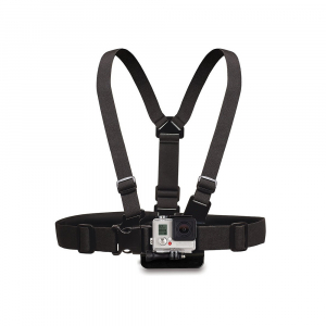 Harnais de torse - Compatible GoPro & SJ4000 - Noir