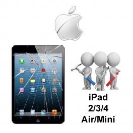 Forfait Réparation Tactile IPAD 2/3/4/Air/Mini