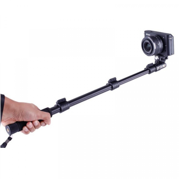 Perche Télescopique Aluminium Pro - Compatible GoPro & SJ4000