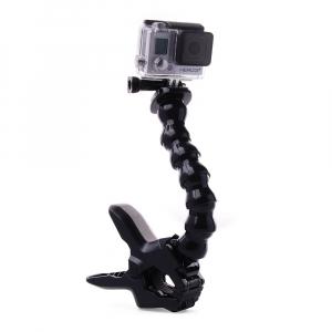 Support Jaws - Bras articulé avec pince - Compatible GoPro & SJ4000