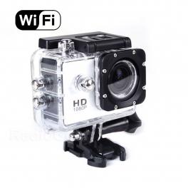 Caméra Sport SJCAM SJ4000 WiFi - Etanche Full HD - Blanc