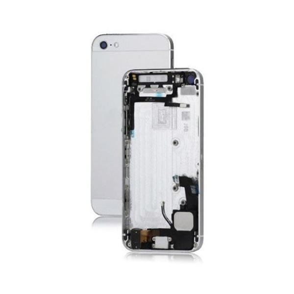 Châssis de remplacement pré assemblé pour IPHONE 5 - Argent