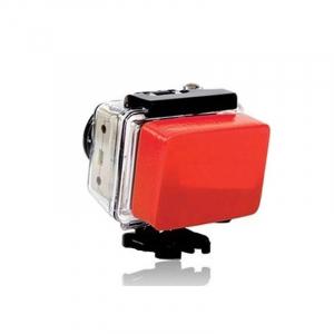 Flotteur pour caisson - Compatible GoPro & SJ4000 - Rouge
