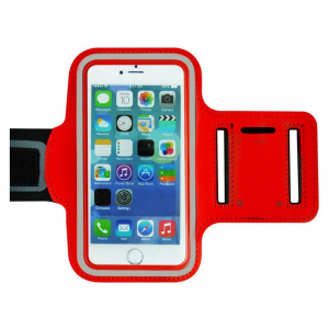 Brassard sport pour IPHONE 6 PLUS - Rouge