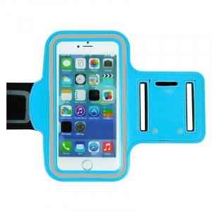 Brassard sport pour IPHONE 6 PLUS - Bleu