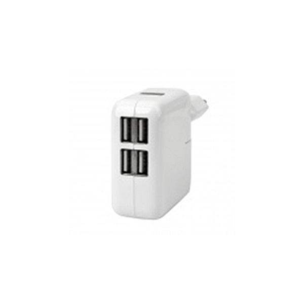 Chargeur 4 ports USB pour IPAD & IPHONE - Blanc
