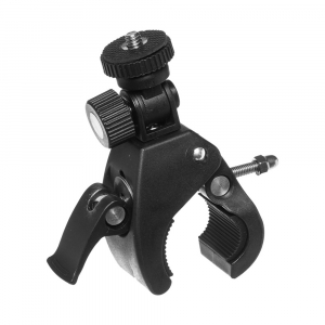 Pince support guidon - Compatible GoPro & SJCAM