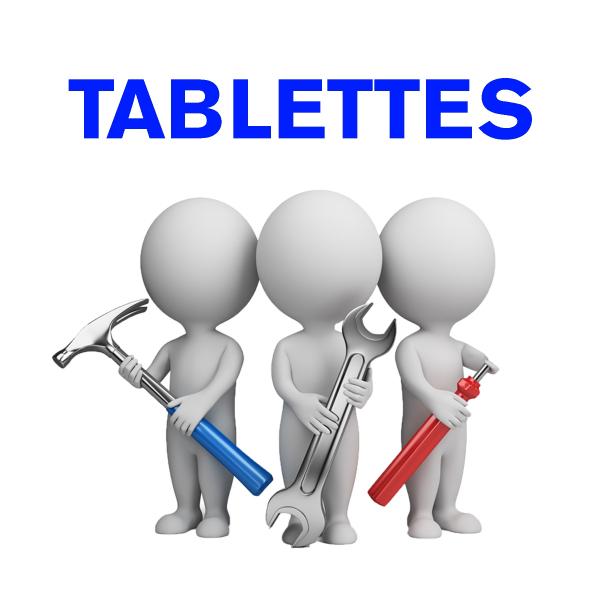 Forfait démontage - remontage pour tablettes