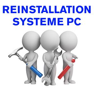 Forfait réinstallation d'un système d'exploitation sur PC (Windows / Mac / Linux)