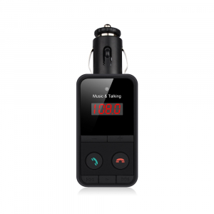 Kit mains libres FM & lecteur MP3 - Bluetooth - Allume Cigare