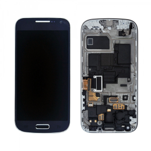 Vitre tactile + LCD - SAMSUNG GALAXY S4 Mini GT-I9190 - Gris