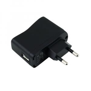Prise adaptateur 1 port USB standard - Noir