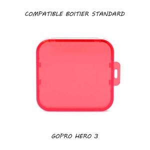 Filtre pour caisson standard GoPro Hero 3 - Rose
