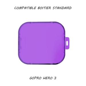 Filtre pour caisson standard GoPro Hero 3 - Violet