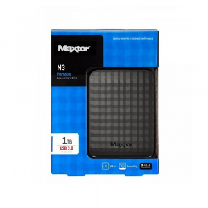 """Disque dur externe MAXTOR M3 - 2,5"""" - 1 To - USB 3"""