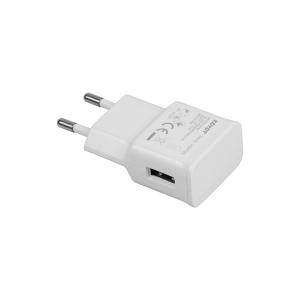 Prise USB 1 port - Blanc