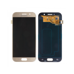 Vitre tactile + LCD - SAMSUNG GALAXY A5 2017 - A520F - Or