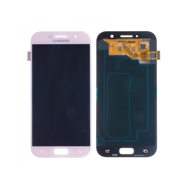 Vitre tactile + LCD - SAMSUNG GALAXY A5 2017 - A520F - Rose