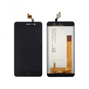 Vitre tactile + LCD - WIKO LENNY 4 - Noir