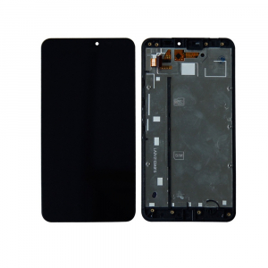 Vitre tactile + LCD - MICROSOFT LUMIA 640 XL - Noir