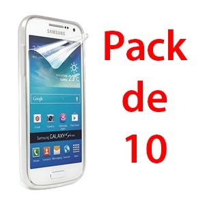 Film de protection pour SAMSUNG GALAXY S4 MINI x10