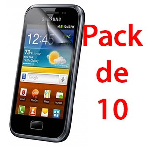 Film de protection pour SAMSUNG GALAXY ACE 2 x10