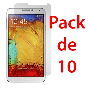 Film de protection pour SAMSUNG GALAXY NOTE 3 x10