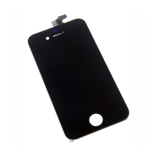 Vitre tactile + LCD pour IPHONE 4 noir