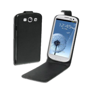 Etui Flip Cover pour SAMSUNG GALAXY S3 noir