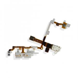 Nappe bouton Power / Volume / Vibreur / Jack pour IPHONE 3G / 3GS - Blanc