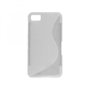 Coque arrière pour BLACKBERRY Z10 - Silicone - Transparent
