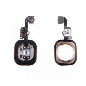 Nappe + Bouton Home IPHONE 6S / 6S PLUS - Or