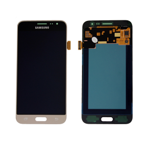 Vitre tactile + LCD - SAMSUNG GALAXY J3 2016 - J320 - Or